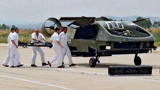 Le 7 mai, à Meggido, en Galilée, le Cormorant a procédé avec succès à une simulation réelle d'évacuation de blessés et de transport de matériel. Le tout sans pilote.