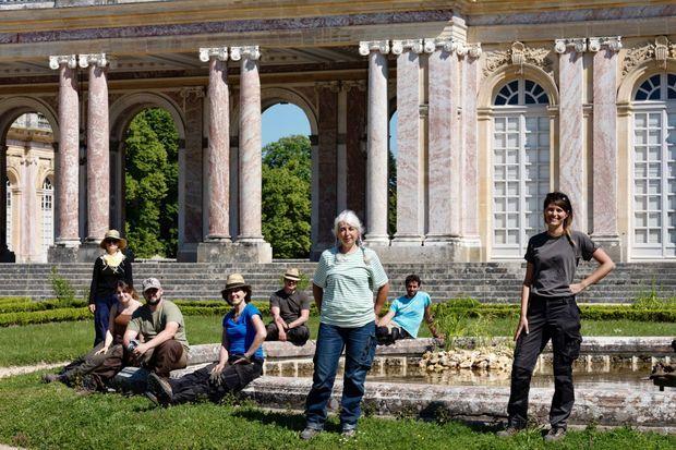 Les jardiniers du Grand Trianon