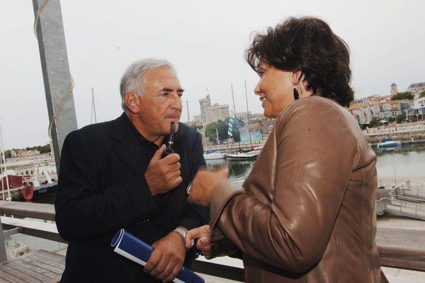 En 2005, DSK et Anne Sinclair, un an avant qu'il ne perde les premières primaires du PS.