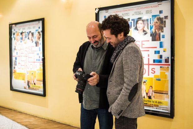 Romain Duris et Cédric Klapisch partagent la passion du cinéma et de la photographie.