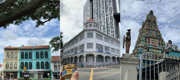 Balade dans le quartier de Duxton Hill, à Singapour.