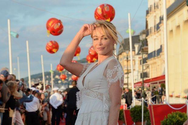 Emmanuelle Béart aux 28es Journées romantiques du Festival du film de Cabourg.