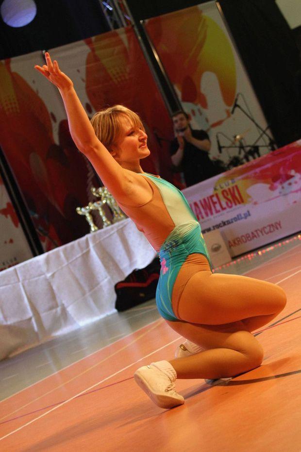 Ekaterina participe aux championnats du monde de rock acrobatique à Varsovie en 2013