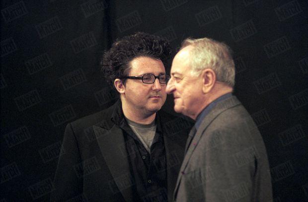 Pierre Bergé et Alber Elbaz, en mars 1999.