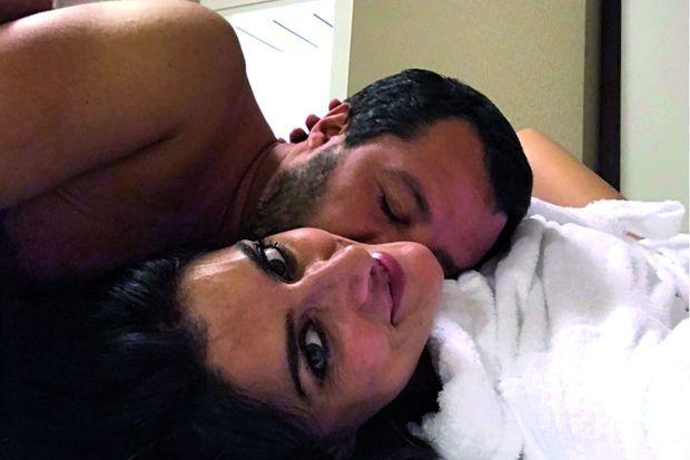La photo avec laquelle la présentatrice télé Elisa Isoardi annonce sa rupture sur Instagram en novembre 2018.