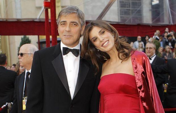 Elisabetta cannalis et George clooney-