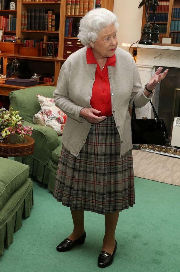 La reine Elizabeth II à Balmoral, le 20 septembre 2017