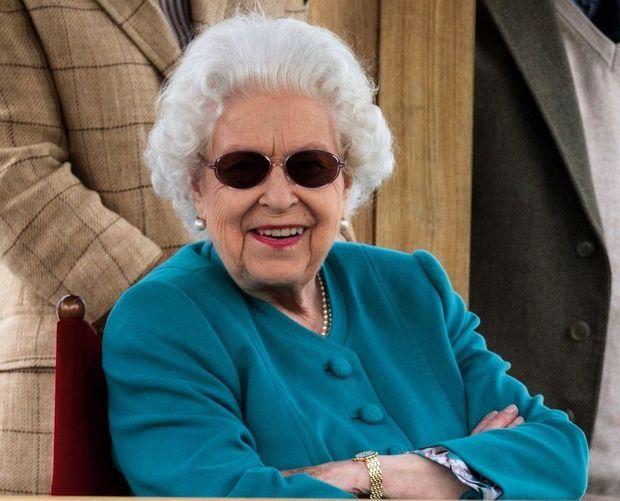 Elizabeth II, 95 ans, au Royal Windsor Horse Show, le 1er juillet.