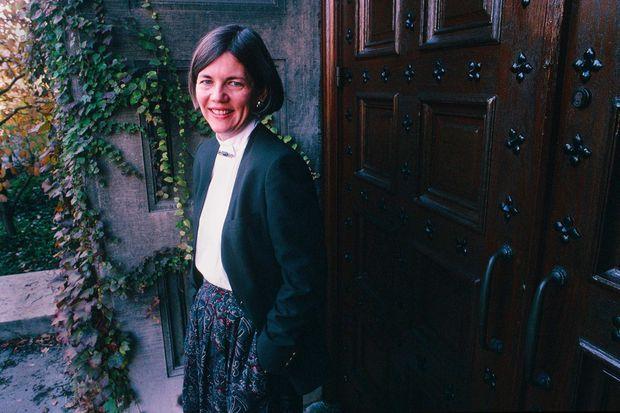 Elizabeth Warren à l'école de droit de l'Université de Pennsylvanie, au début des années 1990.