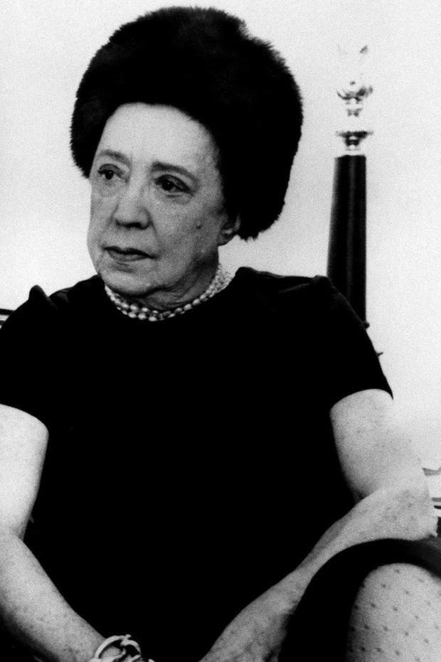 Elsa Schiaparelli, en 1969.