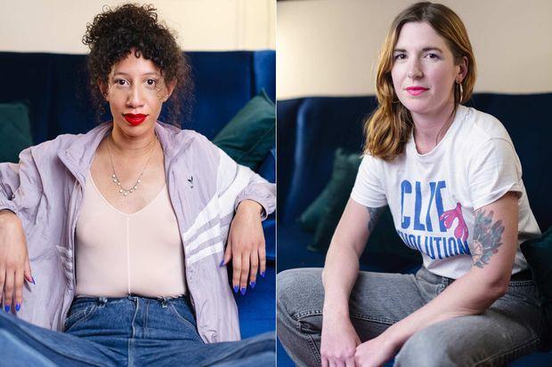 Elvire Duvelle-Charles et Sarah Constantin, du compte @clitrevolution et de la web-série éponyme.