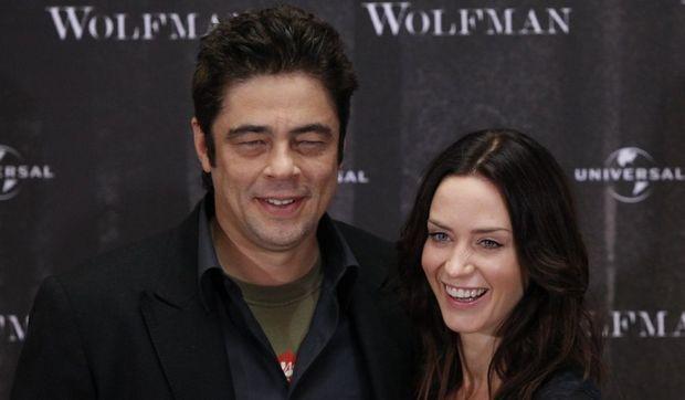 Emily Blunt et Benicio del Toro -