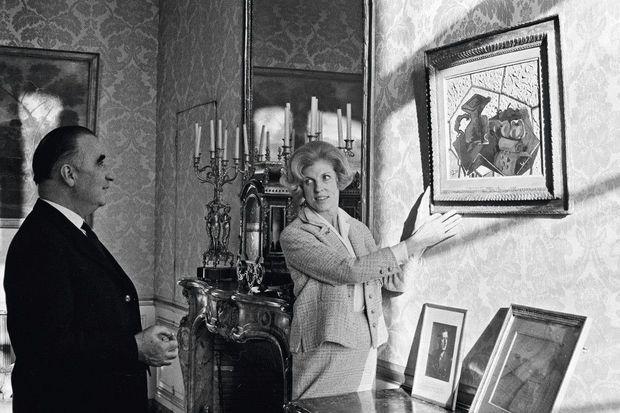 En 1963, les Pompidou accrochent « Le tapis vert », de Braque