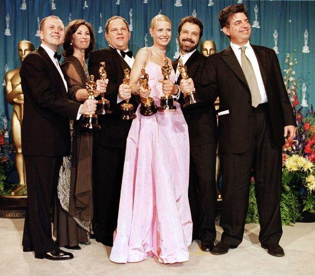 En 1999, avec l'équipe de « Shakespeare in Love »