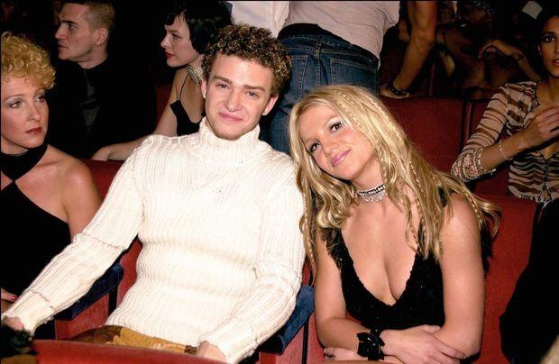 En 2000, avec son boyfriend Justin Timberlake