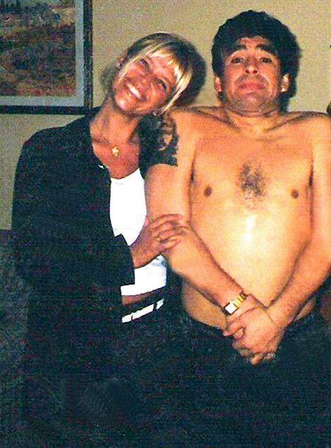 En 2007 avec Nazarena Velez, une de ses nombreuses conquêtes.
