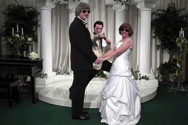 En 2011, les parents Turpin renouvellent leurs voeux à Las Vegas.