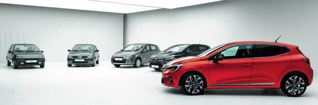 En bientôt trente ans, Renault a écoulé près de 15millions de Clio.