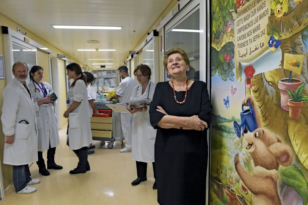 Mariella Enoc, 72 ans, Présidente de l'hôpital Bambino Gesù C'est une laïque qui dirige le plus grand centre hospitalier pédiatrique et de recherche d'Europe. Propriété du Saint-Siège, ses 600 lits reçoivent des jeunes malades du monde entier.
