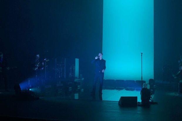 Etienne Daho sur scène à Créteil, le 25 octobre 2019.
