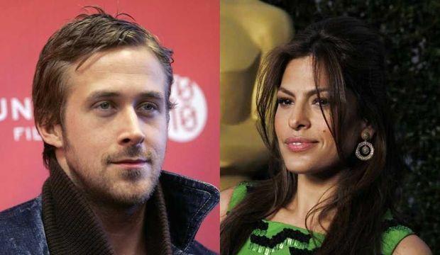 Eva Mendes et Ryan Gosling (montage)-