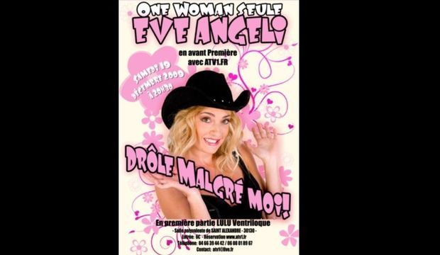 Eve Angeli affiche spectacle-