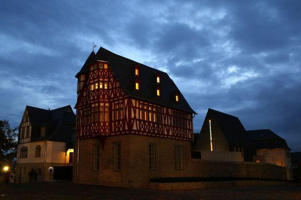 La résidence diocésaine à Limburg.