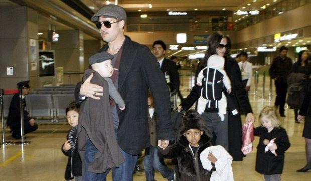 Famille Pitt-Jolie-