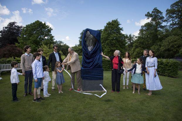 La famille royale danoise au château de Fredensborg, le 5 juin 2017