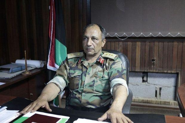 Le colonel Mokhtar Farnana, chef de la rébellion pour le grand ouest Libyen.