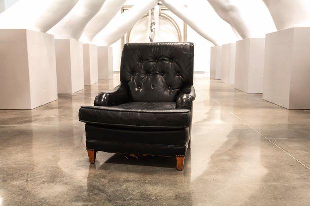 Le fauteuil était dans l'appartement de mon père à New York depuis les années 1980