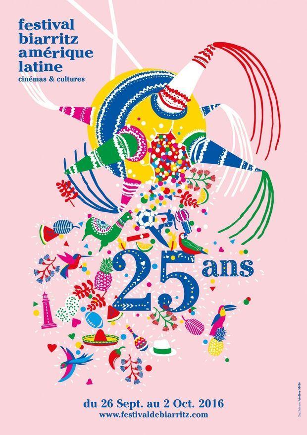 L'affiche du Festival de Biarritz
