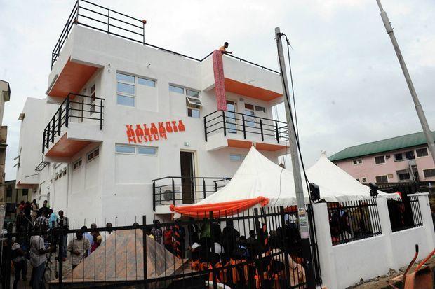 Ouverture du musée Kalakuta le 15 décembre 2012, l'ancienne résidence de Fela Kuti