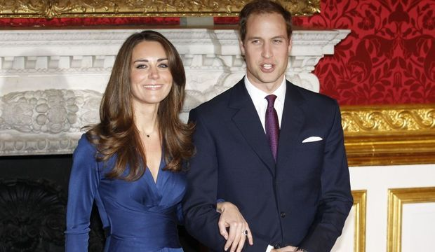 Fiançailles Kate prince William-
