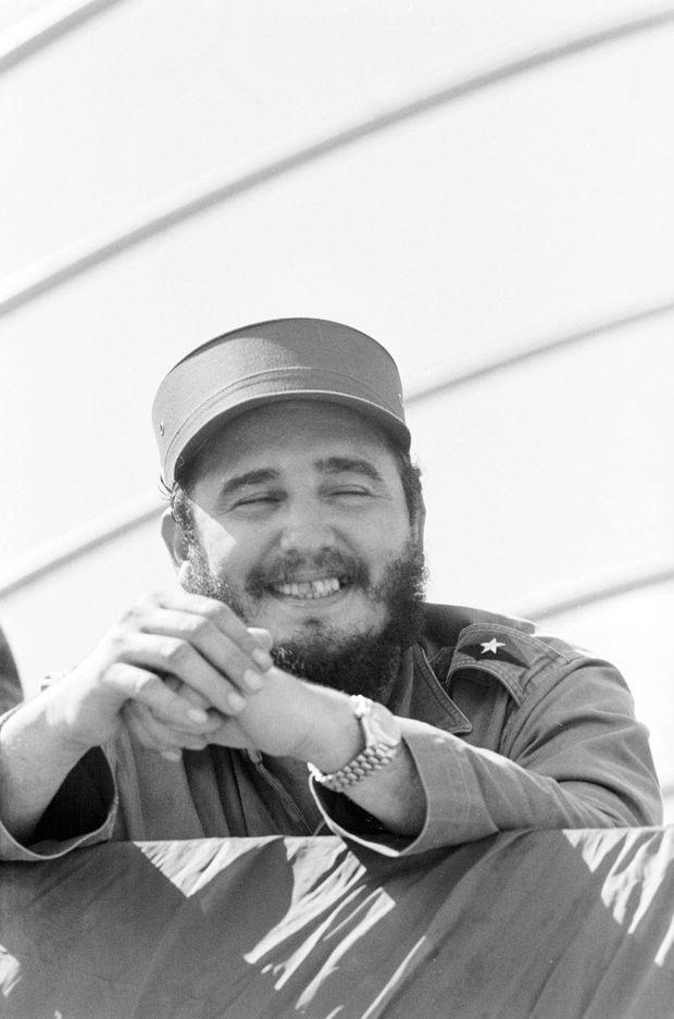 A Cuba, à l'occasion de la célébration de l'anniversaire de la révolution