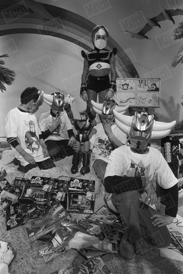 En 1978, les enfants raffolent des déguisement et figurines de Goldorak...