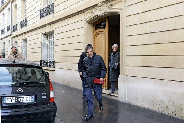 En route pour le Trocadéro, dimanche 5 mars.