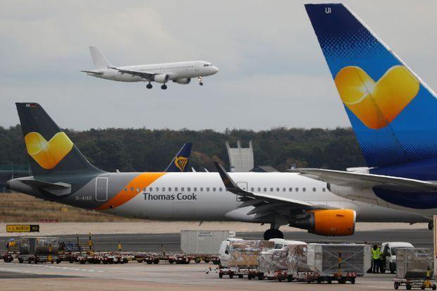 Fin du voyage pour le tour-opérateur, qui possédait sa propre compagnie aérienne. Ci-dessus, atterrissage d'un Airbus A321 à Skiathos, en Grèce, fin juillet.