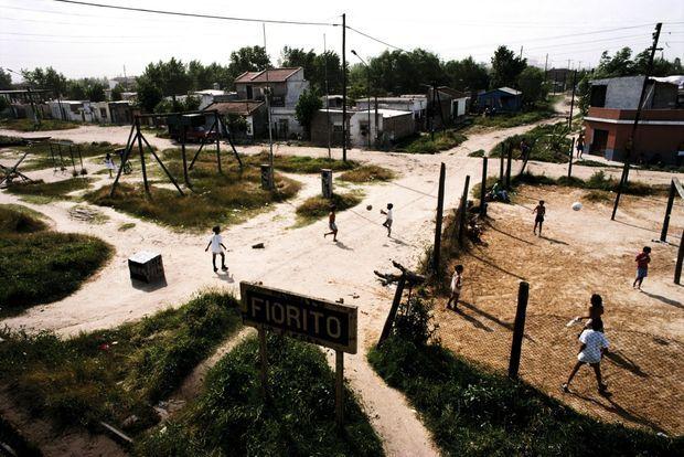 Fiorito, la banlieue pauvre de Buenos Aires où Maradona a passé son enfance.