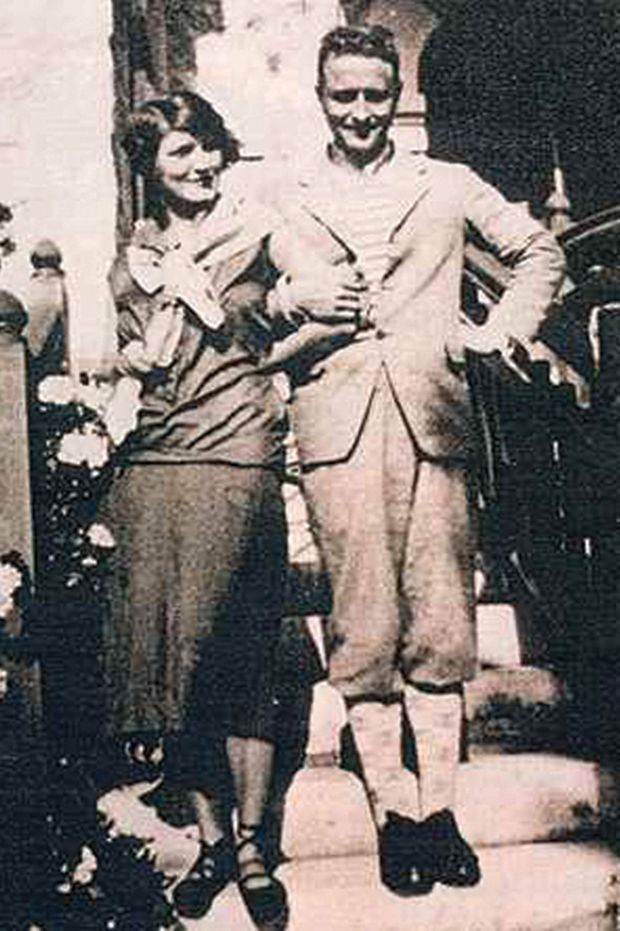 Francis Scott Fitzgerald et son épouse.