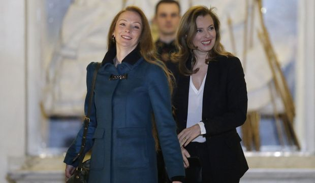 Florence Cassez et Valérie Trierweiler-