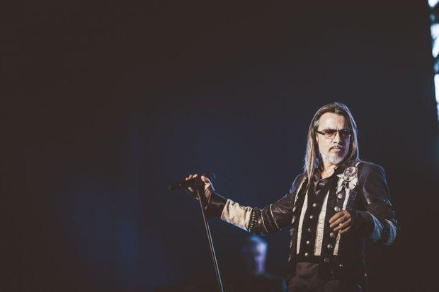 Florent Pagny en concert à Pau