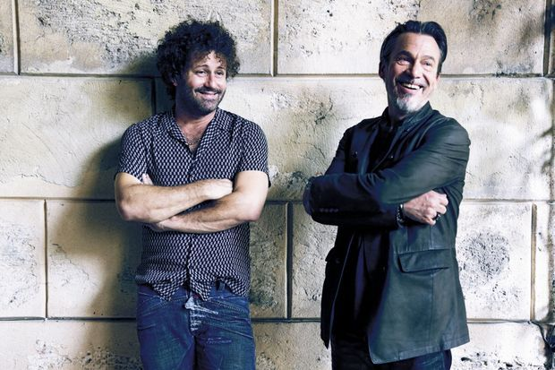 Florent Pagny et Raoul Paz
