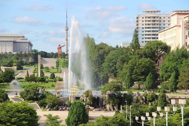 Parc des fontaines Hakdanggol.