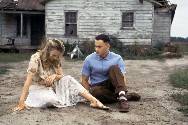 « Forrest Gump », réalisé par Robert Zemeckis en 1994, avec Tom Hanks et Robin Wright.