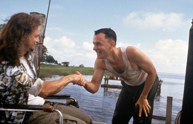« Forrest Gump », réalisé par Robert Zemeckis en 1994, avec Tom Hanks et Gary Sinise.