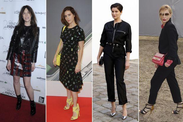 Charlotte Gainsbourg, Vahina Giocante, Laetitia Casta et Emmanuelle Béart.