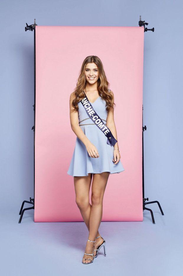 Lauralyne Demesmay, Miss Franche-Comté 2018