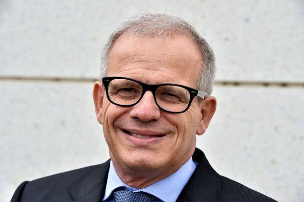 François Duplaix, président d'Upsa, à Agen, en mars 2018.
