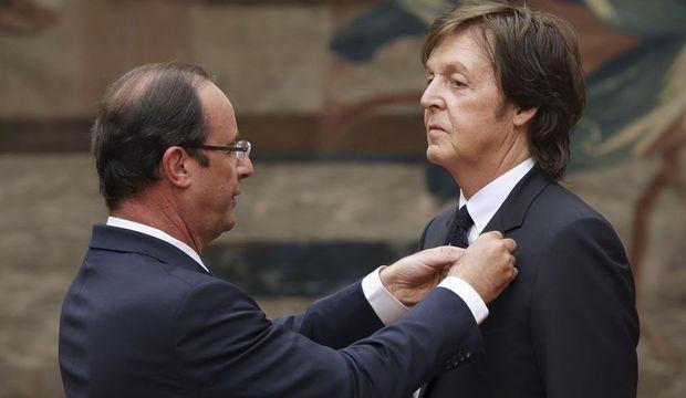 François Hollande Paul McCartney-
